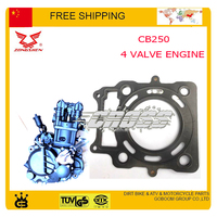 ZONGSHEN CB250 250CC 4 Four Valve Water Cooled Engine Cylinder Head Gasket Xt250 T6 KAYO BSE