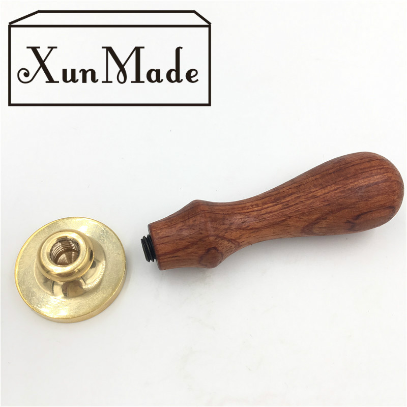 XUNMADE מותג חדש שעווה אישית חותמת חותמת עם עיצוב לוגו משלך חותמת אישית שעווה חותמת באיכות גבוהה