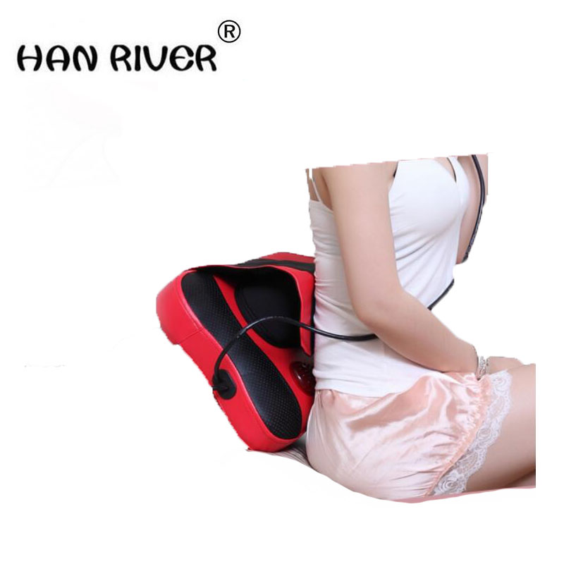 HANRIVER For nec k the waist massage pillow cervical vertebra massage machine massage pad full-body massage device healthcare gynecological multifunction treat for cervical erosion private health women laser device