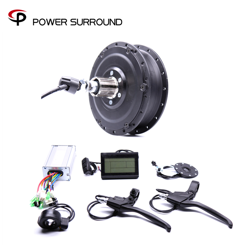 2018 48v500w Shengyi Dgw22c Rear Cassette Electric Bike Conversion Kit Brushless Hub Motors with EBike system 16pcs 14 25mm carbide milling cutter router bit buddha ball woodworking tools wooden beads ball blade drills bit molding tool