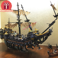DHL Movie series 71042 2344Pcs Silent Mary toys For Children Gift Building Blocks Set Pirates of the Caribbean