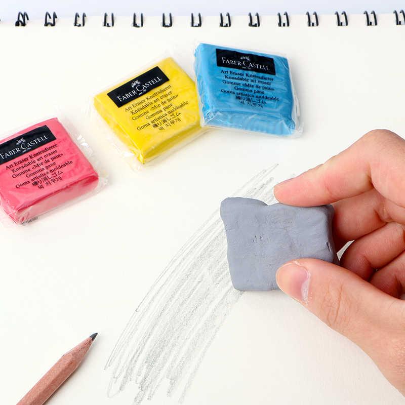 Kneaded Rubber Pencil Art Sketch Drawing ยางลบพาสเทลภาพวาดยางลบศิลปิน Plasticine Office School Supply เครื่องเขียนนักเรียน