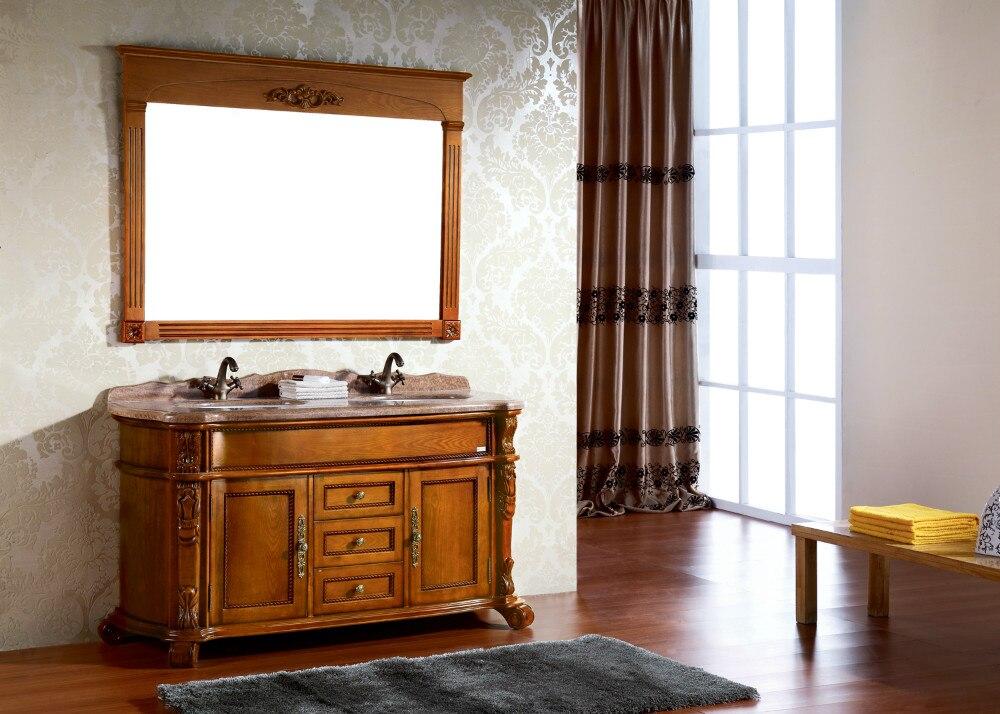 classic bathroom cabinet double sinks