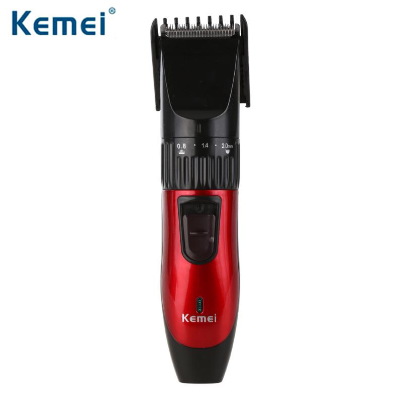 Kemei KM-730 Rechargeable Hair Clipper Professional Hair Trimmer Clipper Beard Trimmer for Men Electric Haircut Cutter
