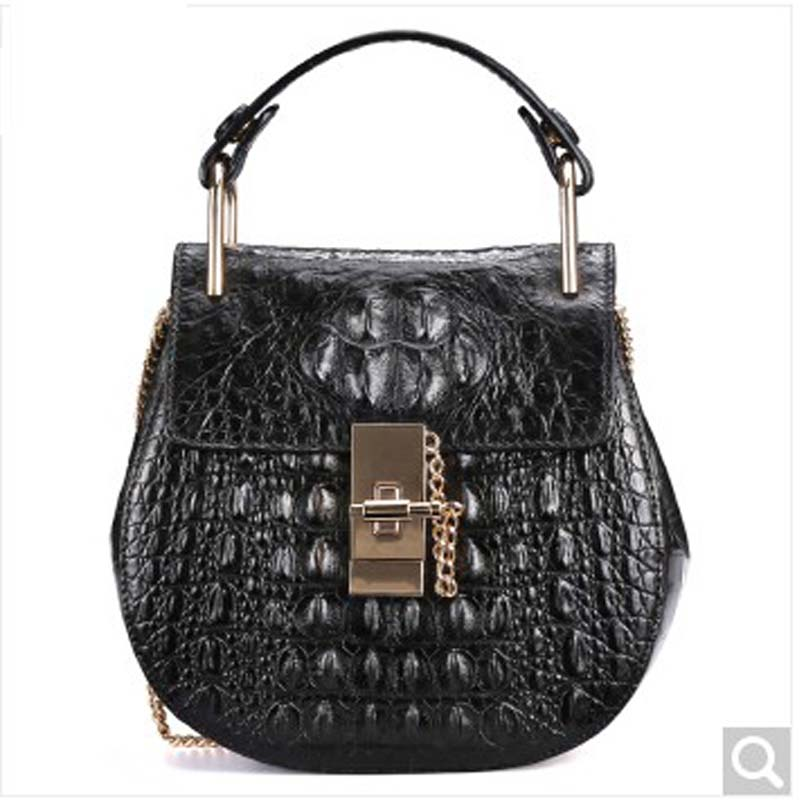 fasiqi crocodile The female bag chain of the chain pig bao star in the style of 2016 new fashion single shoulder slanting mini лупа bao workers in taiwan 10