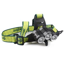 Outdoor strong bald Light bicycle head lamp Dual-purpose head lamp multifunction T0.2