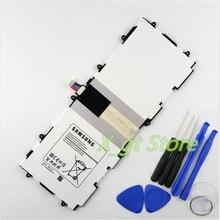 100% Оригинальные Подлинная 6800 мАч T4500E Батарея для Samsung Galaxy Tab 3 10.1 GT-P5210 P5200 P5220 P5213 SP3081A9H Batteria + инструмент