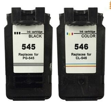 2 stücke pg-545 cl-546 für canon pg 545 cl 546 tintenpatrone für canon pixma mg2400 mg2450 mg2500 mg2550 mg2580 ip2880 mg2455 mx495