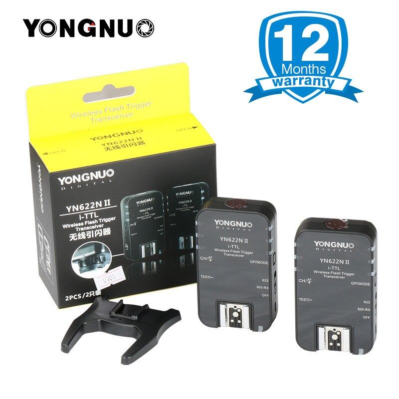 YONGNUO YN-622N II YN622N II TTL Flash Trigger Transceiver transmitter for Nikon D80 D90 D300 D700 D800 YN685N YN568EX speedlite