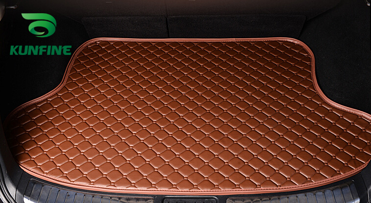 Car Styling Car Trunk Mats for NISSAN TIIDA Trunk Liner Carpet Floor Mats Tray Cargo Liner Waterproof 4 Colors Opitional