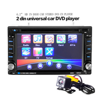 Universal 6 2 Inch 2DIN Universal Car Bluetooth Touchscreen CD DVD Player Stereo MP3 AUX FM