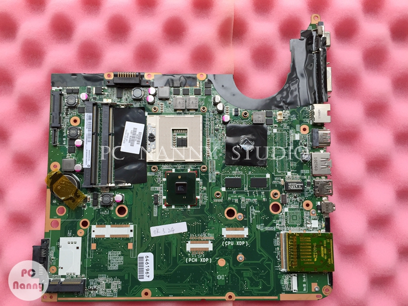 NOKOTION Laptop Hp Dv6 Mainboard Intel DA0UP6MB6F0 for DV6-2100 S989/pm55 W/video Fully-Working