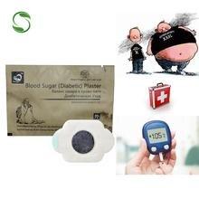 20pcs Cinese Diabetici Patch di Cura Trattamento Diabete Gesso Insulina controllo Ridurre lo zucchero Nel Sangue di glucosio nel medicina Medico di Patch