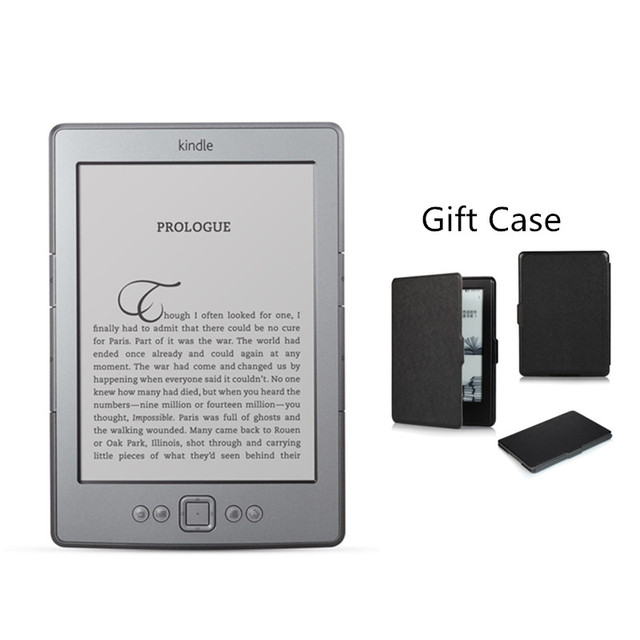 Kindle 4  E-book e-ink Display 6 inch Ebook Reader Electronic e book Gray Ereader 2GB Refurbished Great Condition