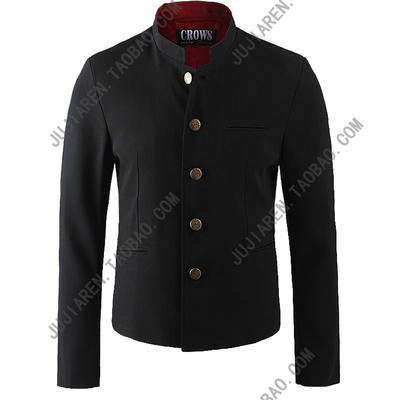 Free Shipping New Japanese school uniform male men's boy slim blazer chinese tunic suit jacket top Korean On Sale