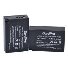 2pc LP-E17 LPE17 LP E17 7.4V 1040mAh Rechargeable Li-ion Battery for Canon EOS Rebel T6i 750D T6s 760D M3 800D 8000D Kiss X8i