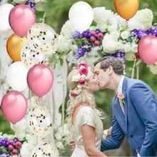 8 Season Wedding Confetti Balloons Helium Gas For Balloon Happy Birthday Globos Baby Shower Girl Boy Ballon Party Decor