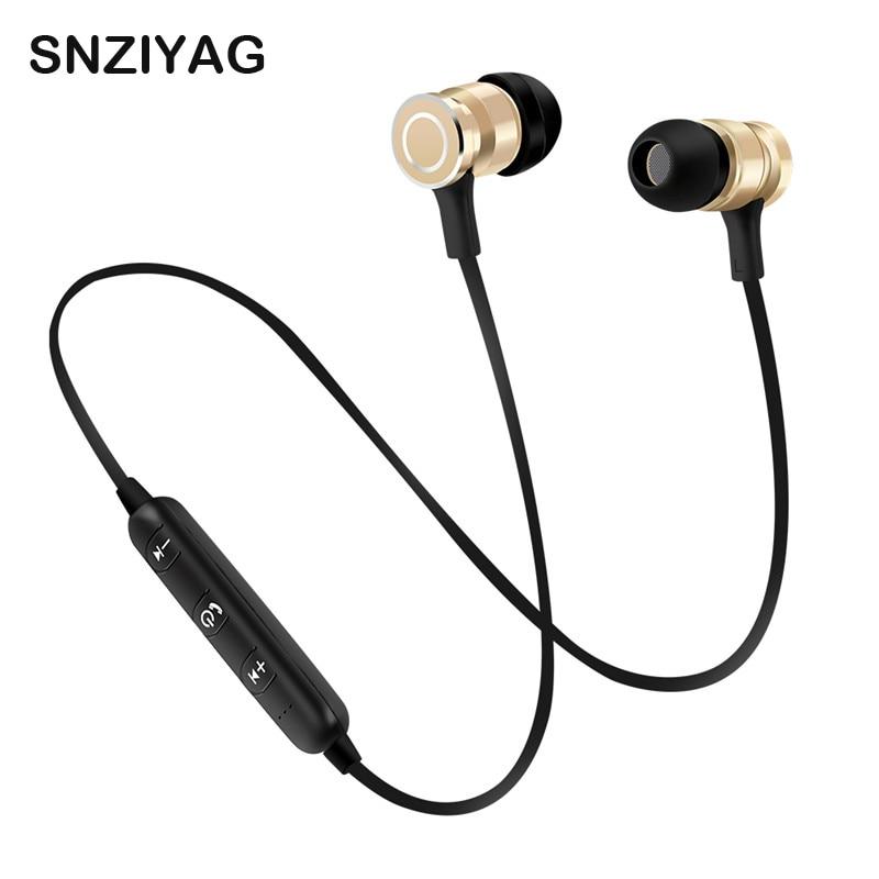 SNZIYAG S7 Sport Sans Fil Bluetooth Écouteurs Casque Basse Stéréo Fonctionnant Dans L'oreille Sweatproof Écouteurs avec Microphone Écouteur