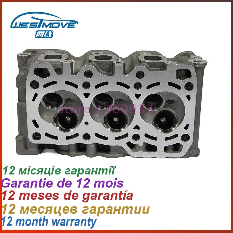 cylinder head for Chevrolet Spark 03-09 Daewoo Matiz Tico 98- 796CC 0.8L SOHC 6V ENGINE : F8CV 11110-80D00 96642708 96316210 0986022101 10455503 96275481 new starter for chevrolet daewoo pontiac matiz 1 0l suzuki