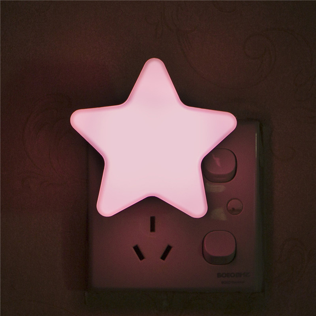 Light Sensor Control Mini Star LED Night Light for Dark 1