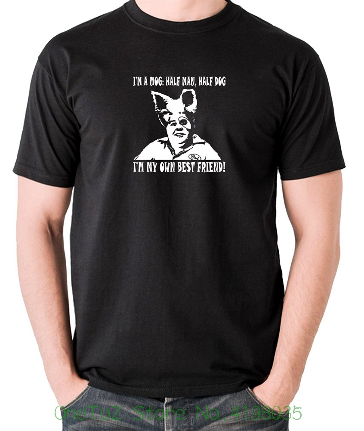 Spaceballs - Barf , Im A Mog : Half Man , Half Dog - Mens T Shirt On Sale New Fashion Summer