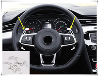 For VW Volkswagen Golf 7 MK7 GTI R 2014 2015 2016 2017 2018 Racing DSG Paddle Shifters Replacement 2pcs Car Styling