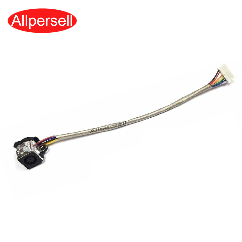 Laptop DC Power Jack Harness For Dell Studio 1535 1536 1537 1555 1557 1558 0K324D Power Socket Connector Cable