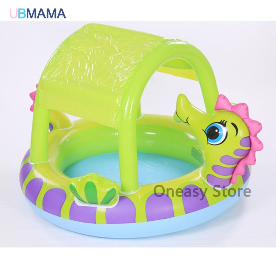 Высокое Качество Симпатичный динозавр формы, надувной бассейн ребенка играть бассейн Детская ванна пул 229*165*117 см