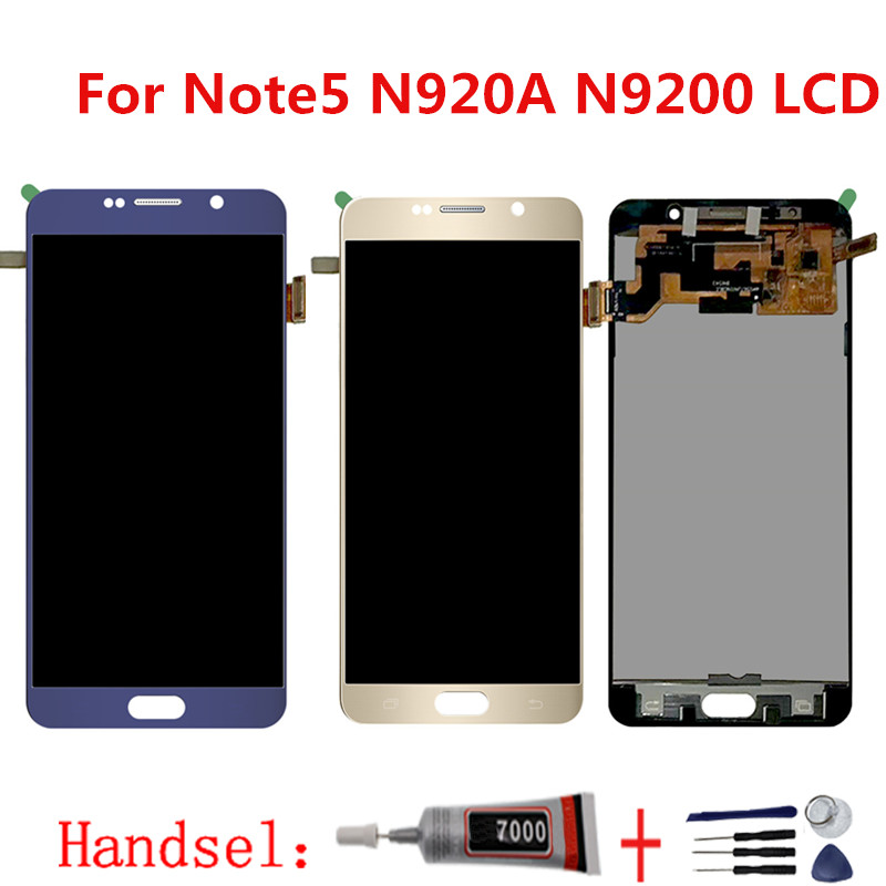 Note5 LCD display screen for SAMSUNG Note 5 Note5 N920A