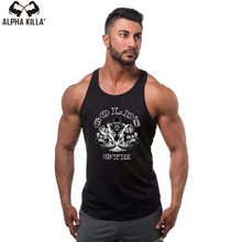 Golds Tank Top Men Sleeveless Shirt Bodybuilding Stringer Fitness Men's Cotton Singlets Muscle Clothes Workout Vest B-28(China)