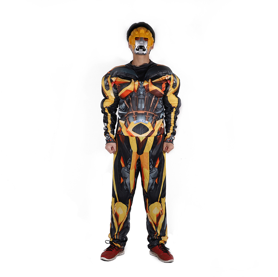 Performance costumes Transformers clothing Bumblebee costume cosplay costumes stage costumes