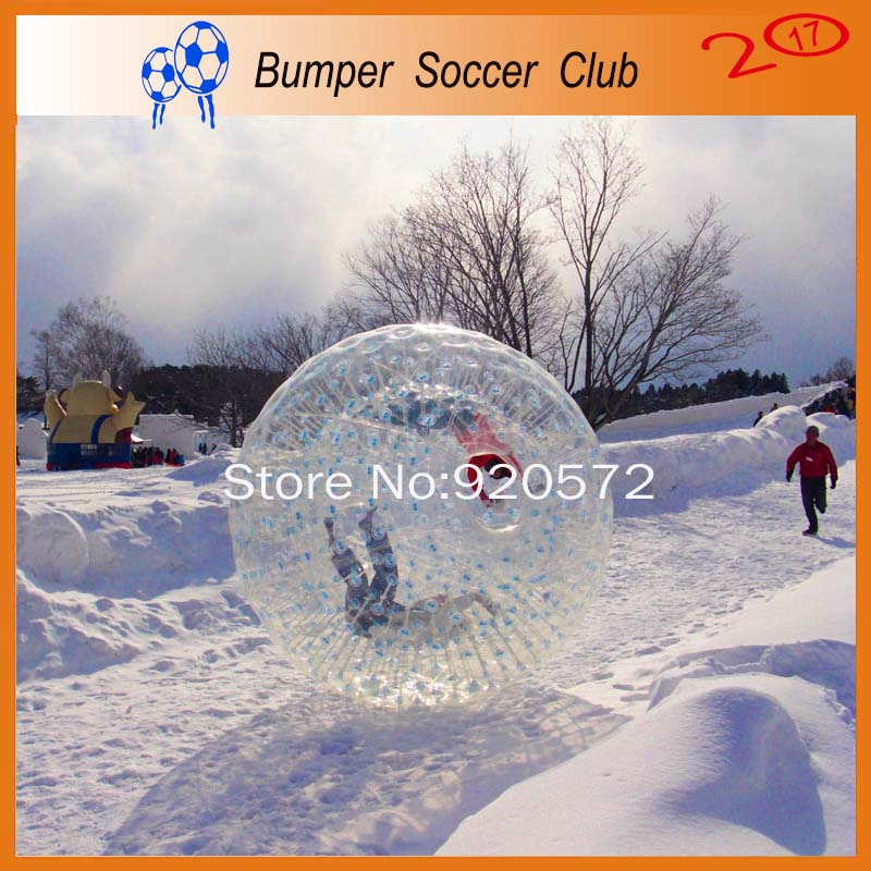 Envío libre! 2.5 m exterior 1.5 m dentro inflable bola del Zorb del cuerpo, Bola del Zorb del agua, Bola del Zorb para la venta