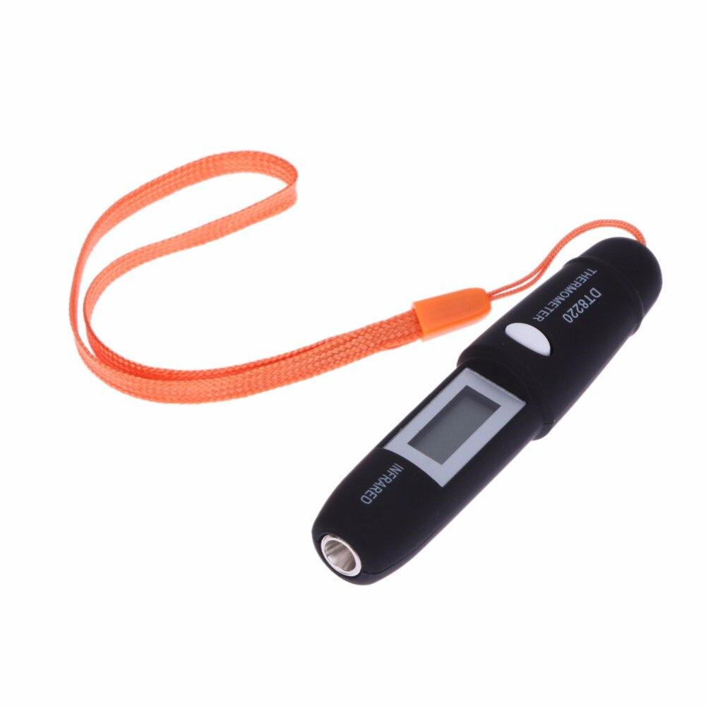 Mini Stylo Type Sans Contact Thermomètre Infrarouge IR Température Testeur De Mesure Auto LCD Affichage IR Capteur Température Mètre