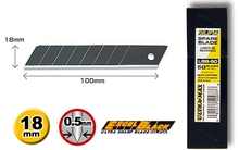 OLFA Klinge Schwarz Typ 18mm/LBB10K LBB-10 LBB-50 PL-1 L-1 L-2 L-3 OL FL CL ML SL-1 EXL XL-2 BN-L BN-AL NOL-1 NL-AL