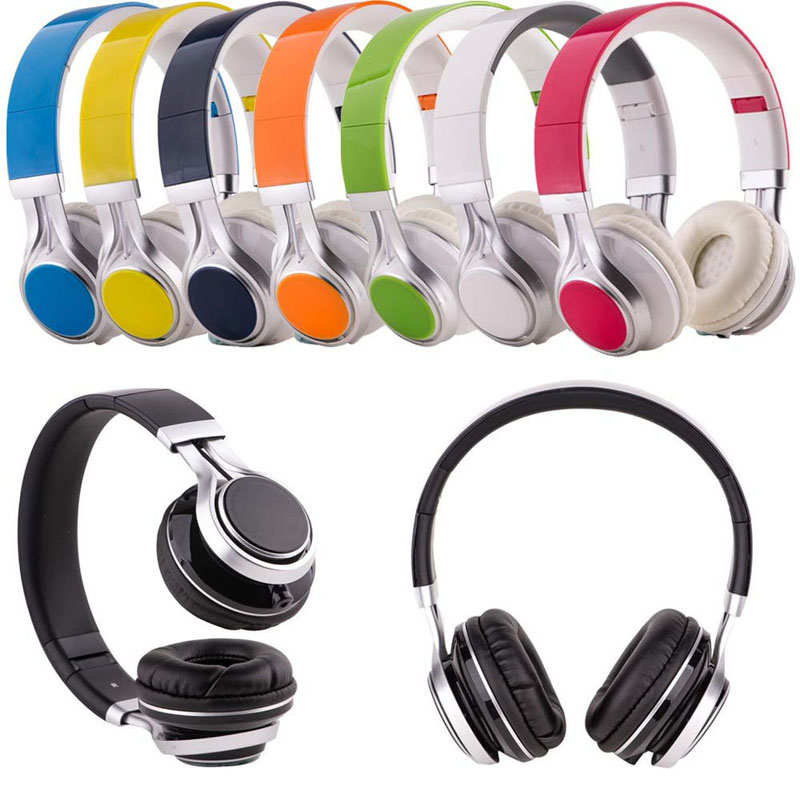 3.5mm Wired Foldable Stereo Headphone Over Ear Big Earphone For Phone MP3 PC girls/boys Gift Music Headset Headphones ir infrared wireless headphone stereo foldable car headset earphone indoor outdoor music headphones tv headphone 2 headphones