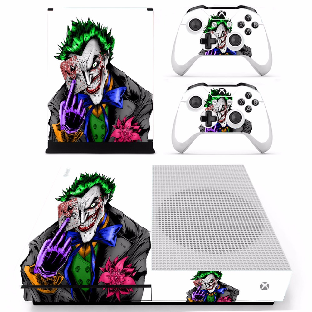 Full Body Film Protector Skin Sticker For XBOX One S Console With Two Wireless Controlle ...