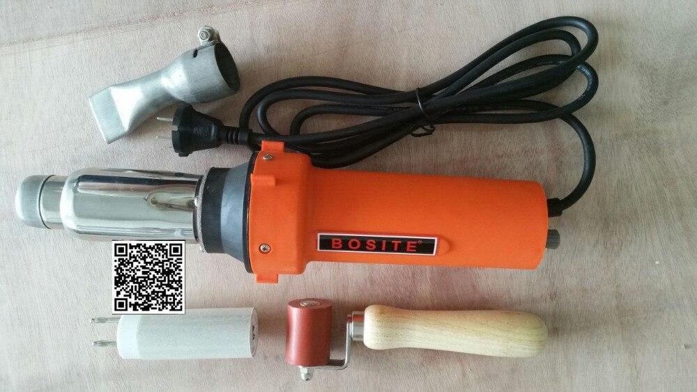 Free shipping AC220v 2000w hot air welder gun/hot air gun Vinyl/plastic welding gun/hot air welding machine/plastic welder