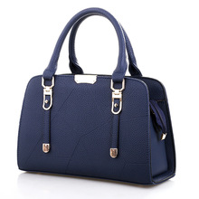 Women Bags Casual Tote PU Leather Handbags Fashion Messenger Famous Brands Designer