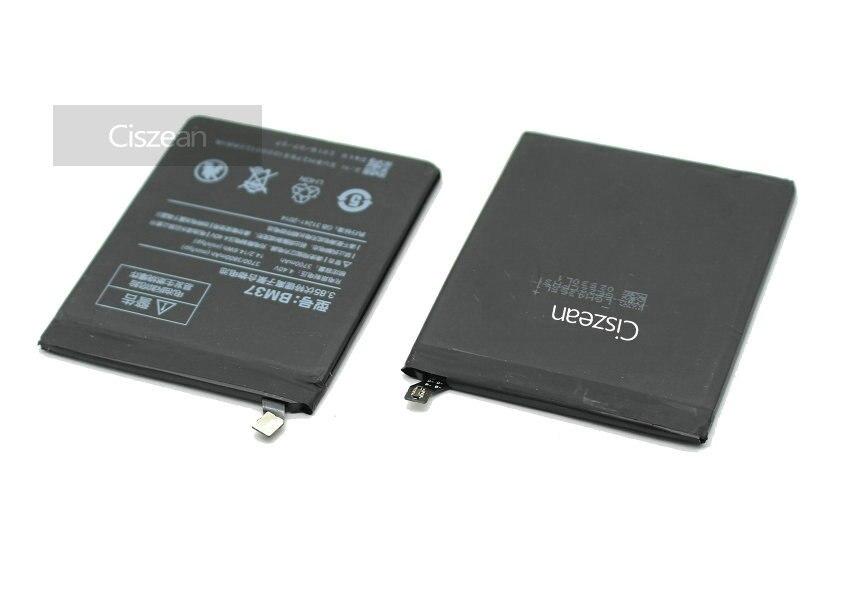 Ciszean Cell-Phone-Battery Xiao Mi Smart 3700mah 5s-Plus For BM37 Mobile High-Capacity