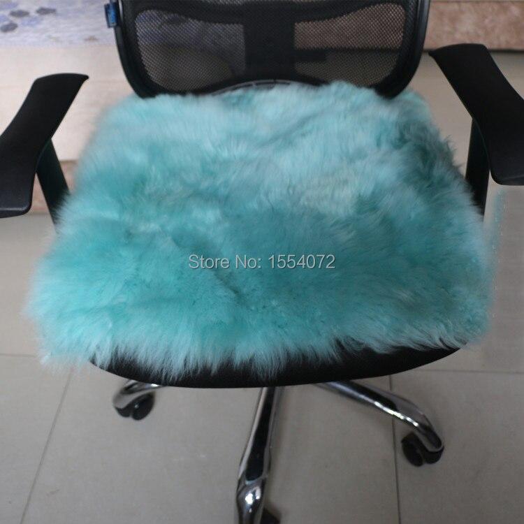 1 unids 100% lana cojines para sillas de asiento silla de oficina ...