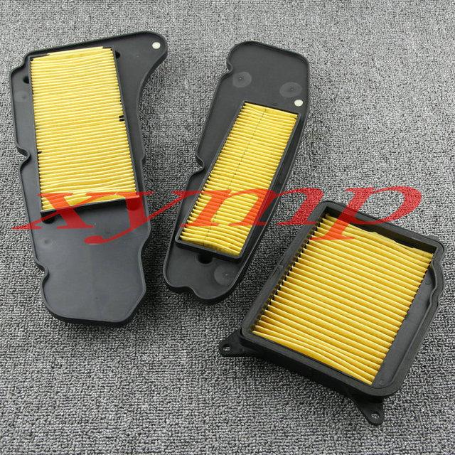 Para yamaha yp400 majesty400 2004-2013 motocicleta lado esquerdo e direito caixa de transmissão de alto fluxo filtro de ar filtro de entrada de ar