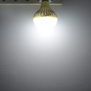 Image 5 - PIR חיישן התנועה נורות E27 220 V מנורת LED חיישן קול 3 W 5 W 7 W 9 W 12 W למדרגות מרפסת מסדרון חירום לילה הנורה