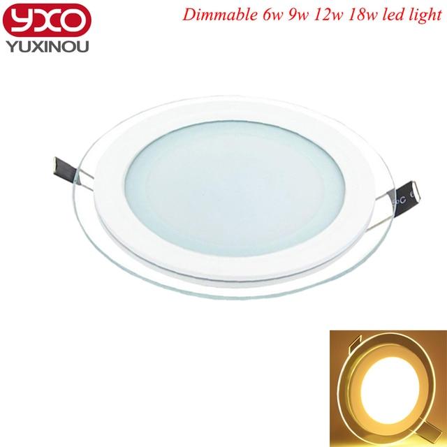 Us 1281 21 Offgorąca Sprzedaż Doprowadziły światła Panelu Wpuszczone ściemniania Smd 5630 Celing Okrągłe Lampy Oświetlenie Punktowe Lampy