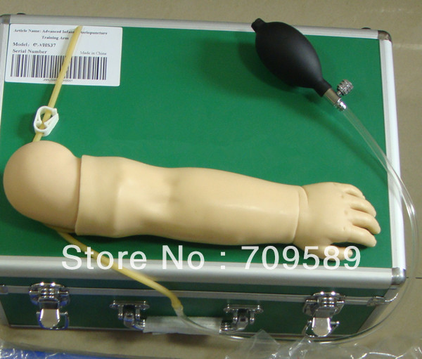 ISO Advanced Infant Arterial Puncture arm Model,  Arterial Puncture Training Simulator infant artery puncture arm simulator infant arteriopuncture training arm infant arterial puncture arm gasen psm0015