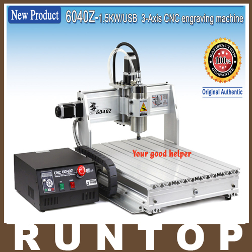 1500W 3 Axis CNC Engraver Engraving  Machine CNC 6040 with USB Port 1500w 4 axis cnc engraver engraving machine cnc 6040 with usb port