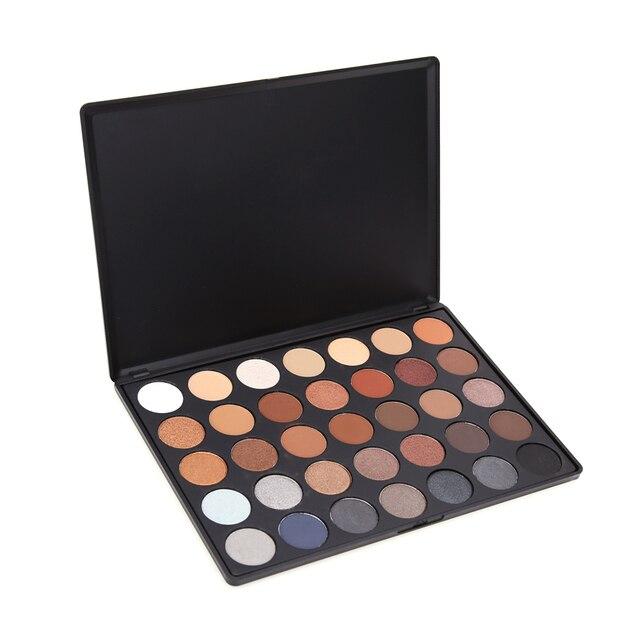 35 Colors Christmas Glitter Eyeshadow Powder Pigment Mineral Spangle Eyes Cosmetic Palette Long-lasting Makeup Eyeshadow Powder