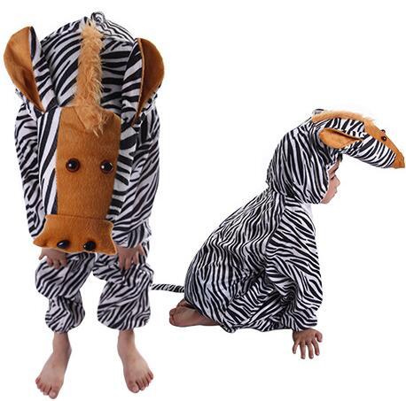 Cartoon Children Kids Animals Costumes Cosplay Clothing Jumpsuit Rabbit Mouse Leopard Cat Halloween Animal Costume for Boy Girl