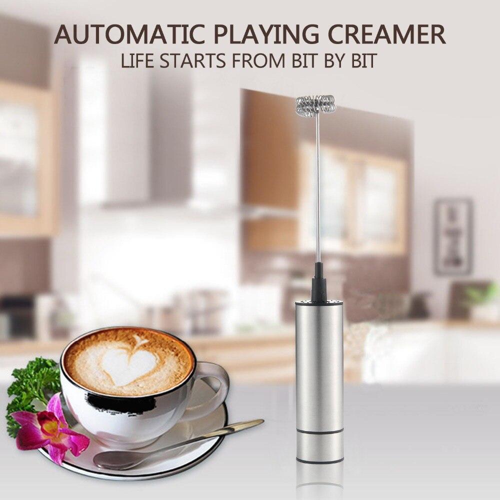 HTB1T8v7XIrHK1Jjy1zdq6zTwXXaw Electric Handheld Milk Frother Foamer Double Spring Triple Spring Whisk Head Agitator Blender Mixer Stirrer Coffee Maker Tool