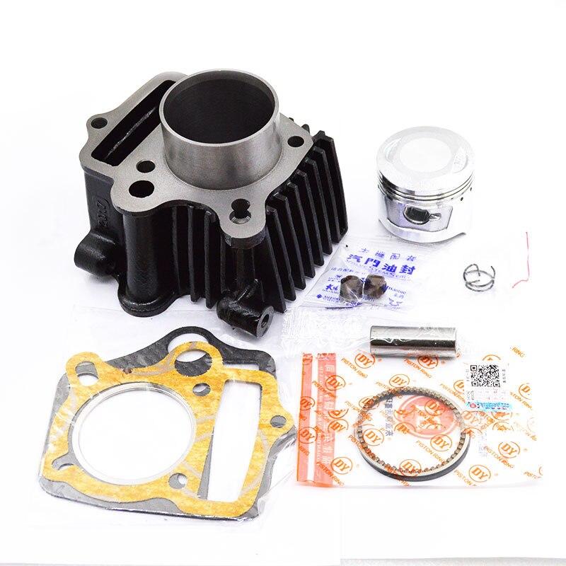 Cylindre de moto Kit De Piston Pour HONDA ATC70 CT70 C70 TRX70 CRF70 CRF70F DAX70 ST70 XR70 70CC 72CM3 MOTEUR MOTEUR KIT de RECONSTRUCTION
