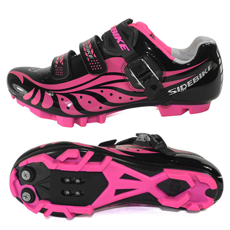Sidebike Women Cycling Shoes Outdoor MTB Shoes Breathable PU Mountain Bike Shoes sapatilha ciclismo mtb sneakers free shipping candy color women garden shoes breathable women beach shoes hsa21